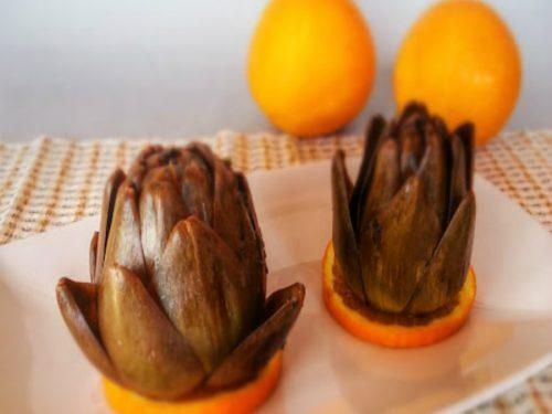 Carciofi e arancio