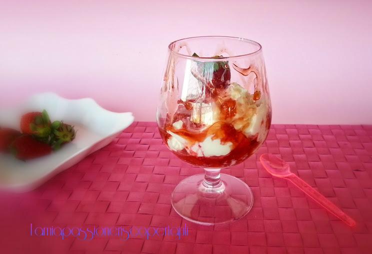 dessert mascarpone e fragole
