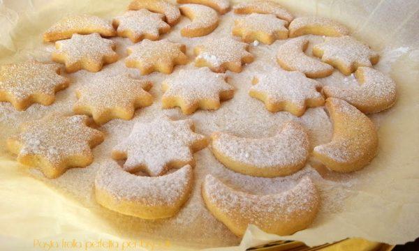 Pasta frolla perfetta per biscotti
