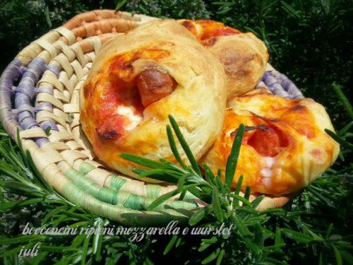 Bocconcini ripieni mozzarella e wurstel