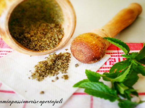 Aroma zucchero di canna e menta