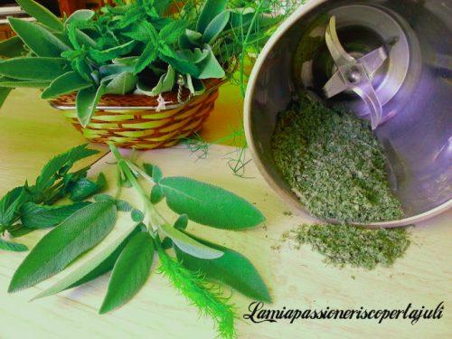 Aroma salvia finocchietto e menta