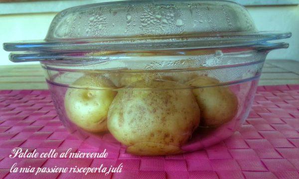 Patate cotte al microonde