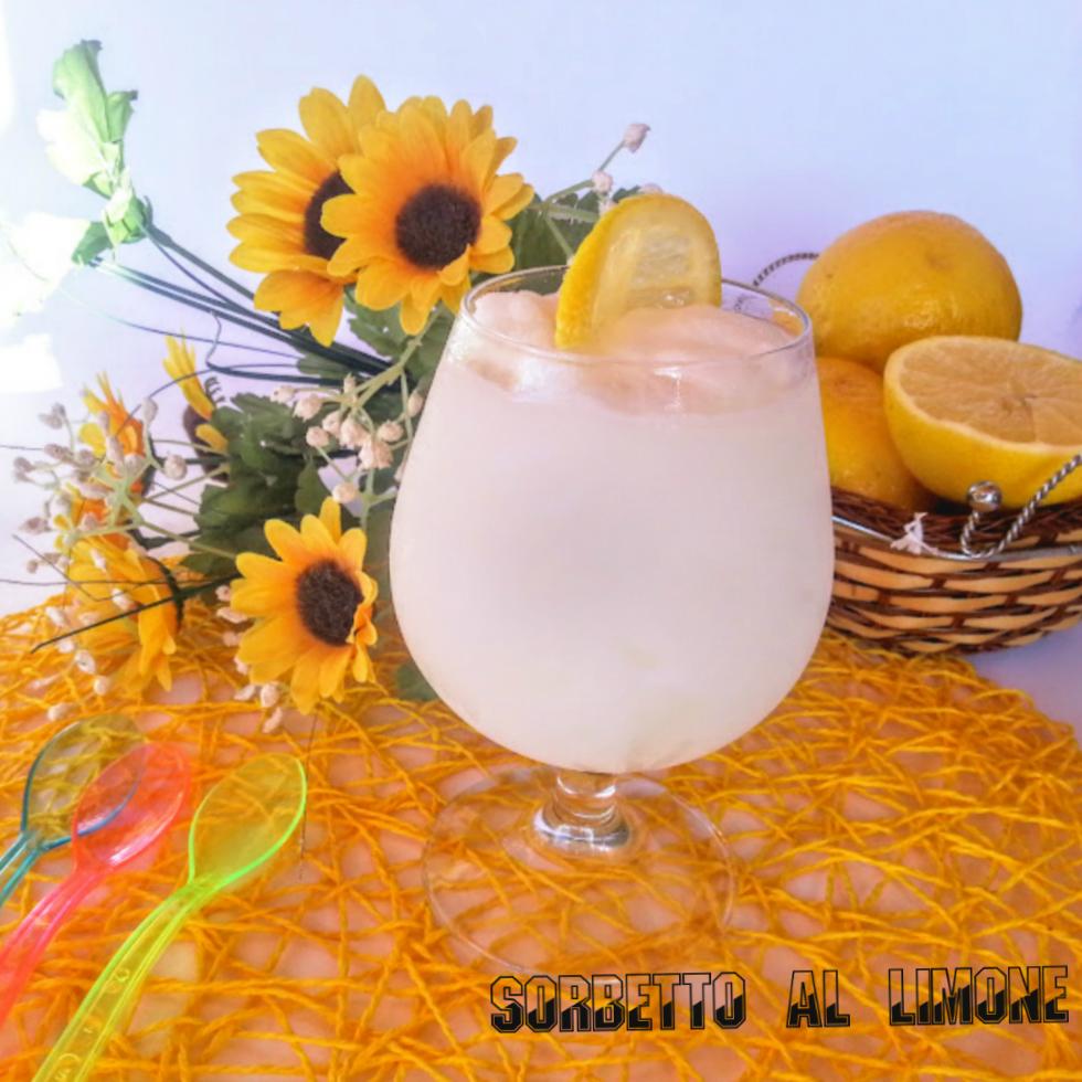 Sorbetto al limone bimby
