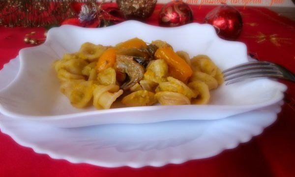Orechietti con peperone giallo
