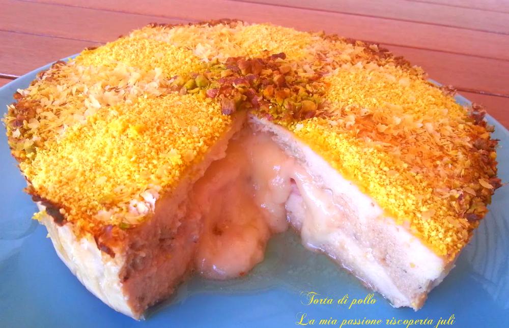 torta di pollo