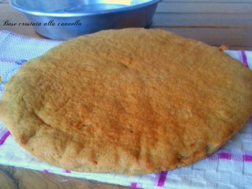 Base crostata alla cannella bimby