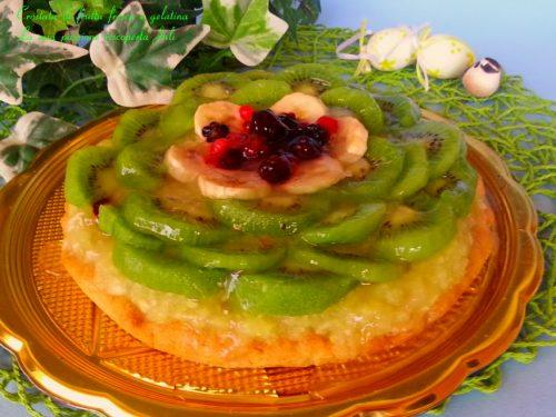 Crostata di frutta fresca e gelatina