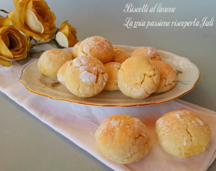 biscotti delicati al limone