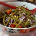 insalata di fagiolini e mais