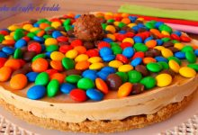 Cheesecake al caffè M&M (Smarties)
