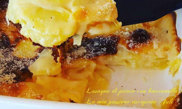 Lasagna di patate con besciamella