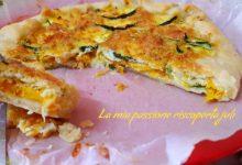 Torta salata con zucca e zucchina