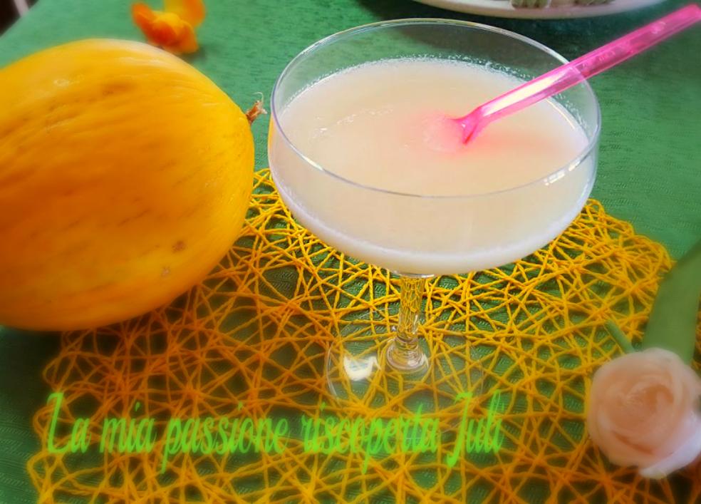Frullato di melone bianco