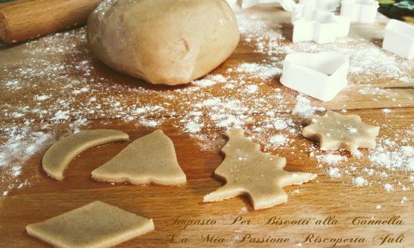 Impasto per biscotti alla cannella