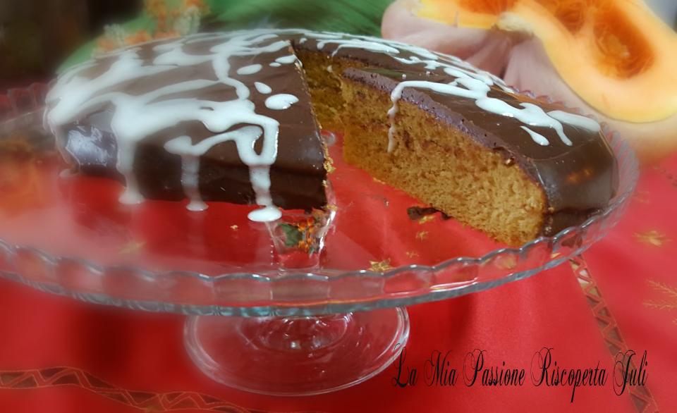 Torta di zucca al cioccolato Bimby