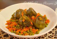 zuppa di carciofi piselli e carote