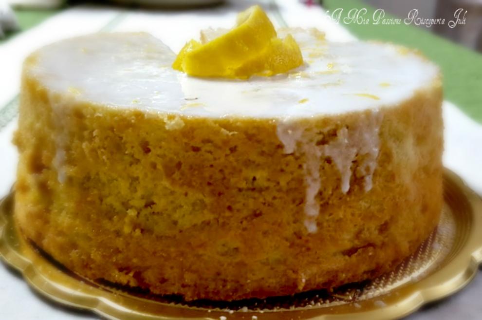 Fluffosa al limone con lievito fatto in casa