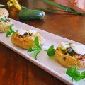 patate ripiene con zucchina e formaggio