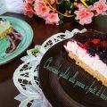 Cheesecake gelato alla panna e frutti di bosco,