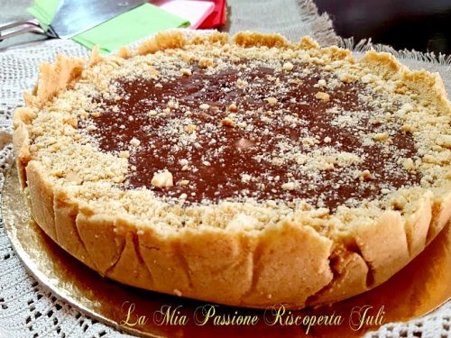 Cheesecake alla Nutella senza gelatiera che non si ghiaccia