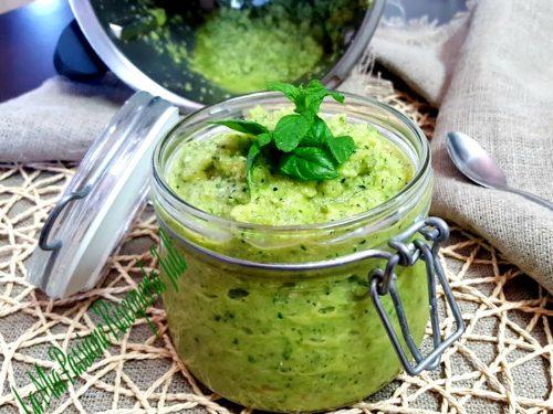 Pesto di zucchina verde