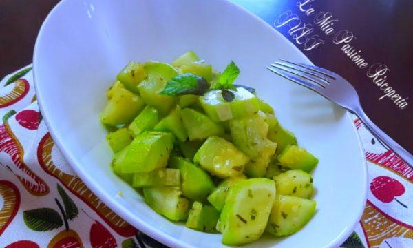 Zucchina siciliana saltata in padella