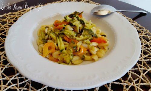 Gnocchetti sardi zucchina e peperone