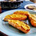 bruschette con crema di peperone