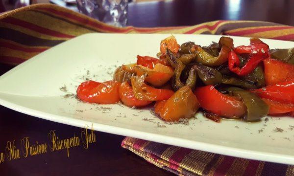 Peperoni fritti in padella