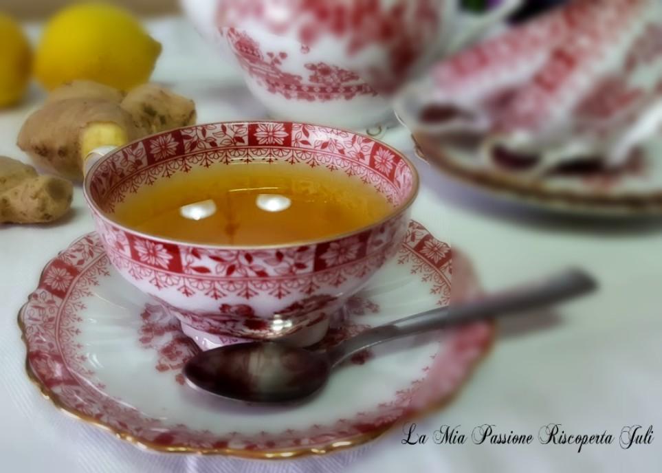Sciroppo zenzero limone e miele