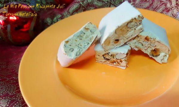 Torrone bianco Natalizio