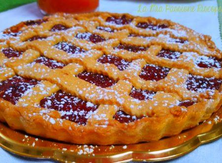 Crostata con marmellata di mele cotogne