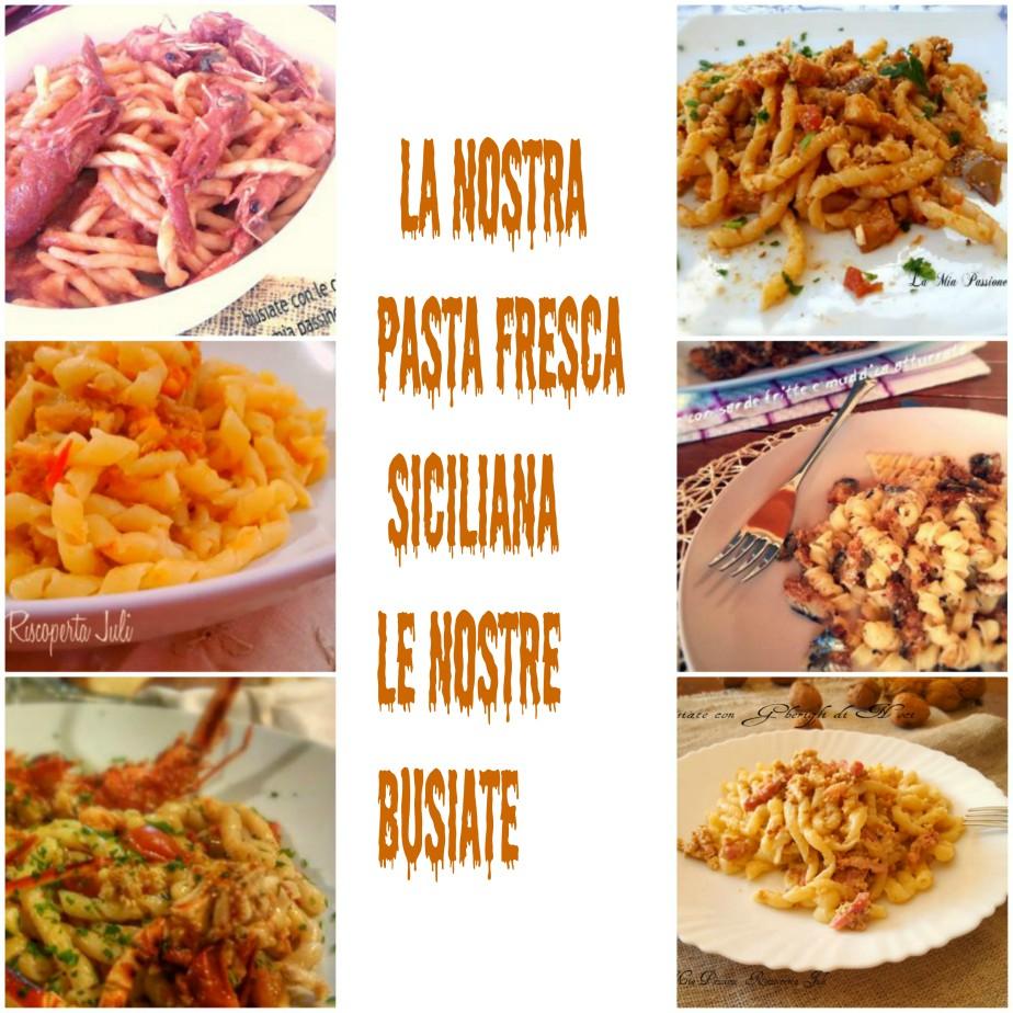Busiate siciliane