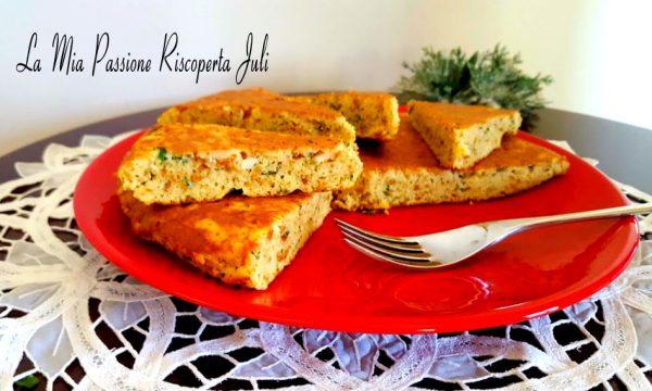 Frittata di pane in padella