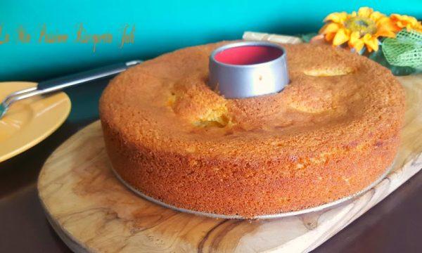 Ricetta della torta all'arancia con farina di mandorle