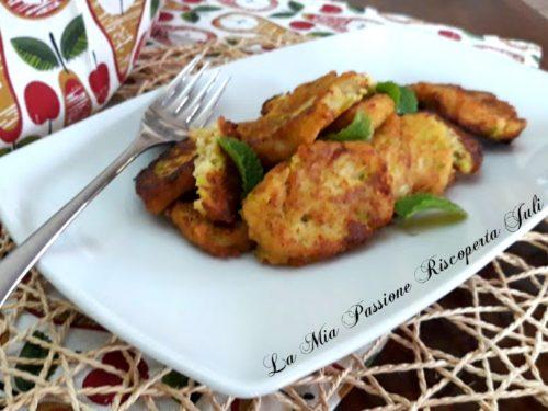 Polpette con zucchina bianca siciliana