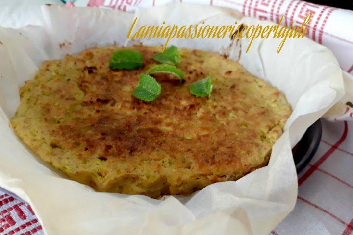 torta pane con zucchina e patate