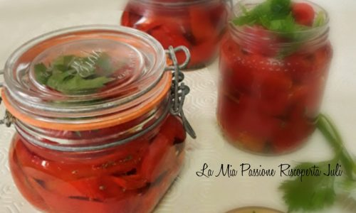 Filetti di peperoni al forno