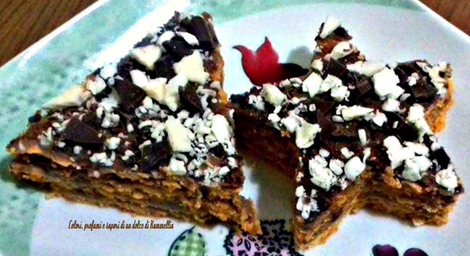 la millefoglie al cioccolato