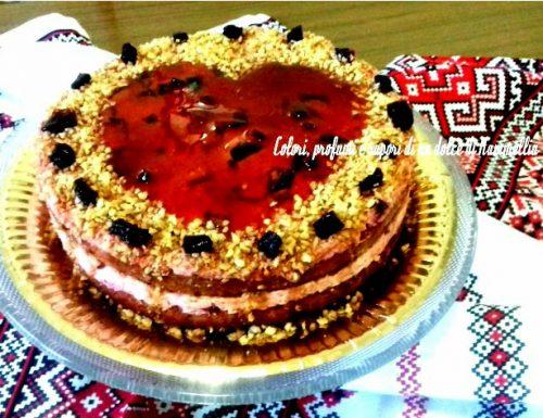 Ricetta Torta con barbabietola e arachidi