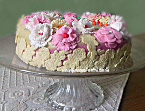Torta rivestita di Marshmallow fondant