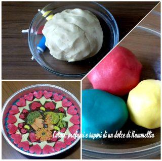 ricetta pasta frolla colorata