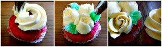 ricetta cupcake, decorare