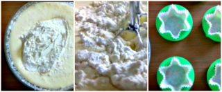 plumcake allo yogurt - unire le farine