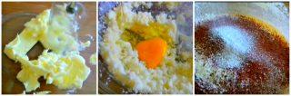 amalgamare tutti gli ingredienti della base di crostata morbida