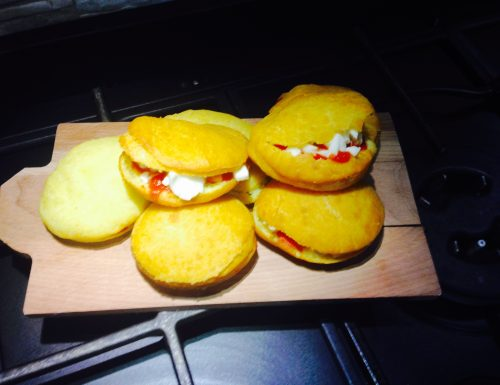 PIZZELLE FRITTE A 4 MANI