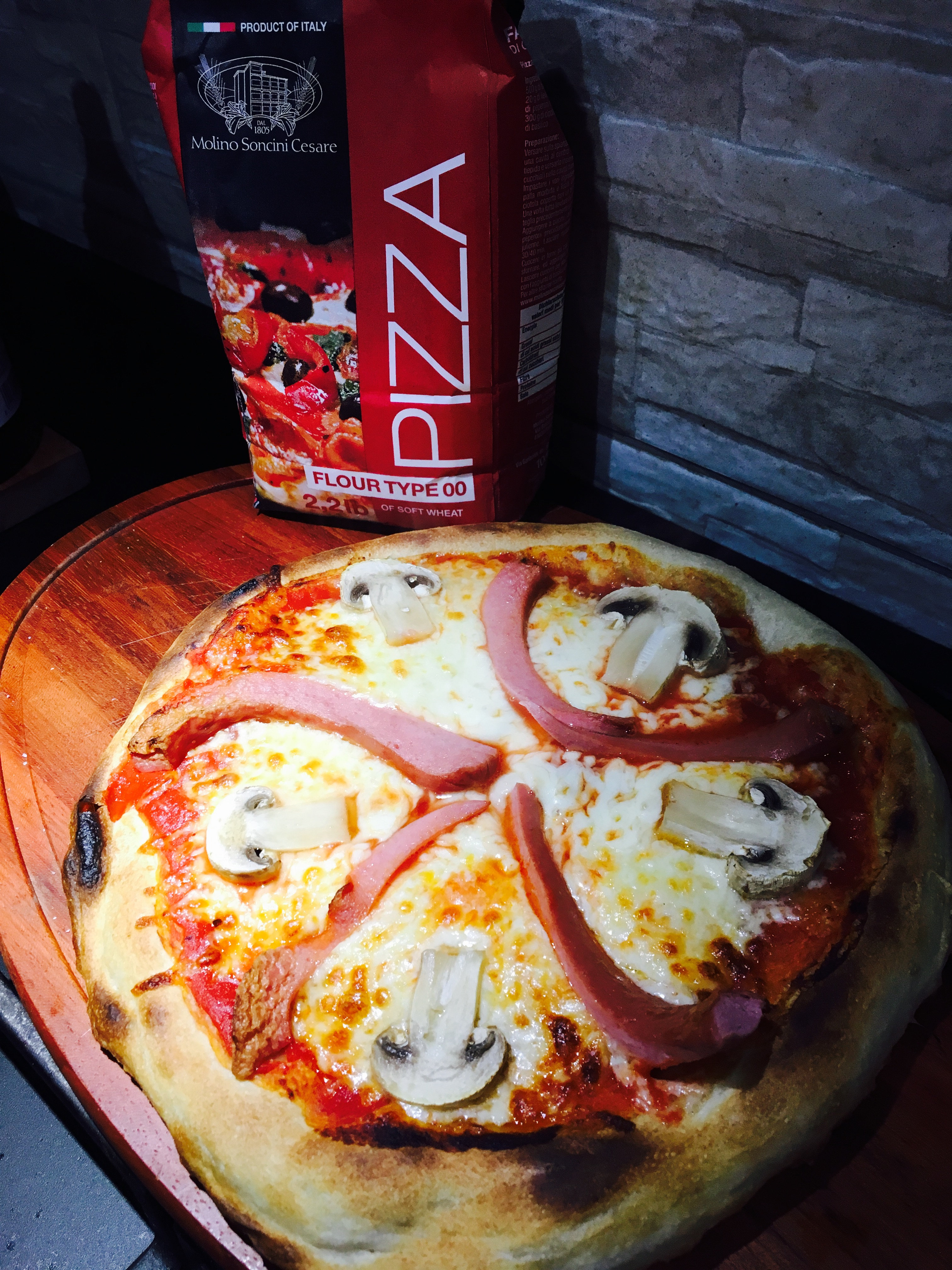 PIZZA FATTA IN CASA SUPER SOFFICE E GUSTOSA