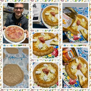 PIZZA AL FARRO FATTA IN CASA