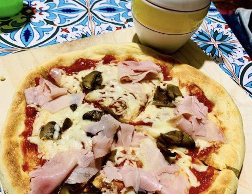 PIZZA CON SEMOLA DI GRANO DURO